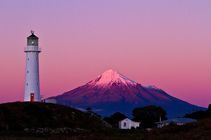 Mount Taranaki  - New Zealand